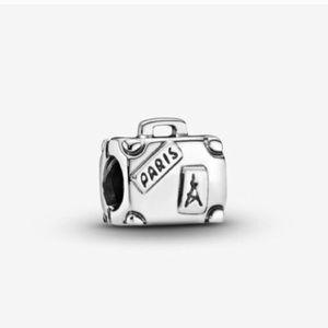 Pandora Adventure Suitcase Travel Charm